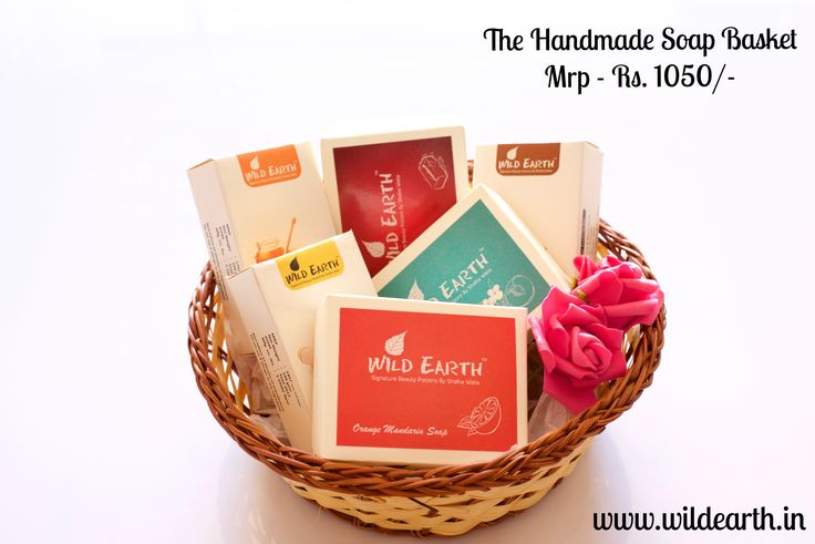 Coz you never can have enough soaps. The Soap Basket from Wild Earth. Handmade & Natural.