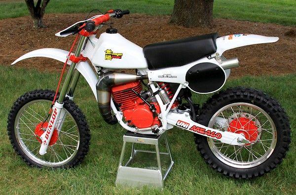 For Sale 2 Rare Unstarted Mugen S Kitted Cr S 1981 Honda Me460 A 1979 Me125 On Ebay Old School Moto Motocross Forums Mes Honda Vintage Motocross Bike