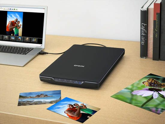 epson perfect v19 compact scanner