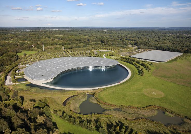 Inside The McLaren Technology Centre. Designed by Sir Norman Foster and home to McLaren.