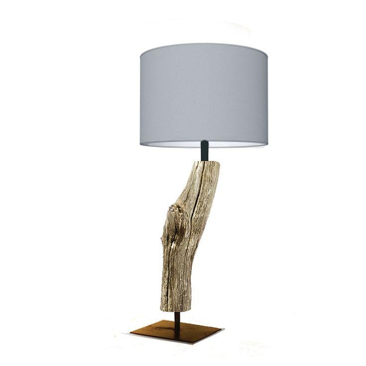 Tafellamp Light Grey van Thomas Wood lampen | Markita.nl