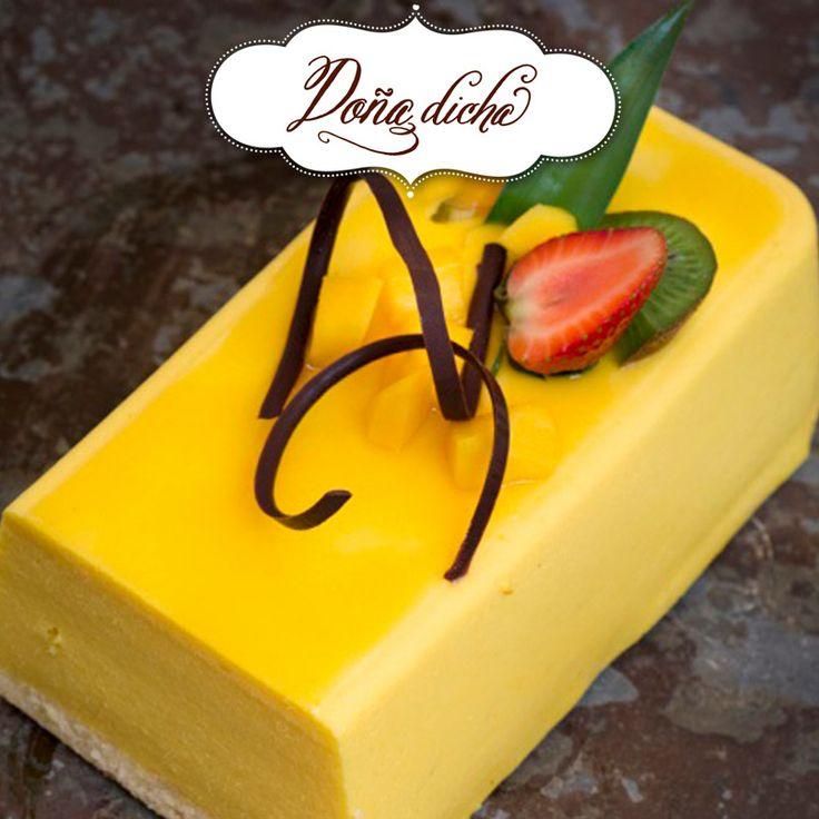 Mousse de mango ligth