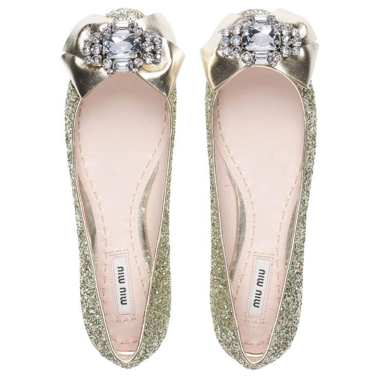miu miu flats, perfect wedding shoes