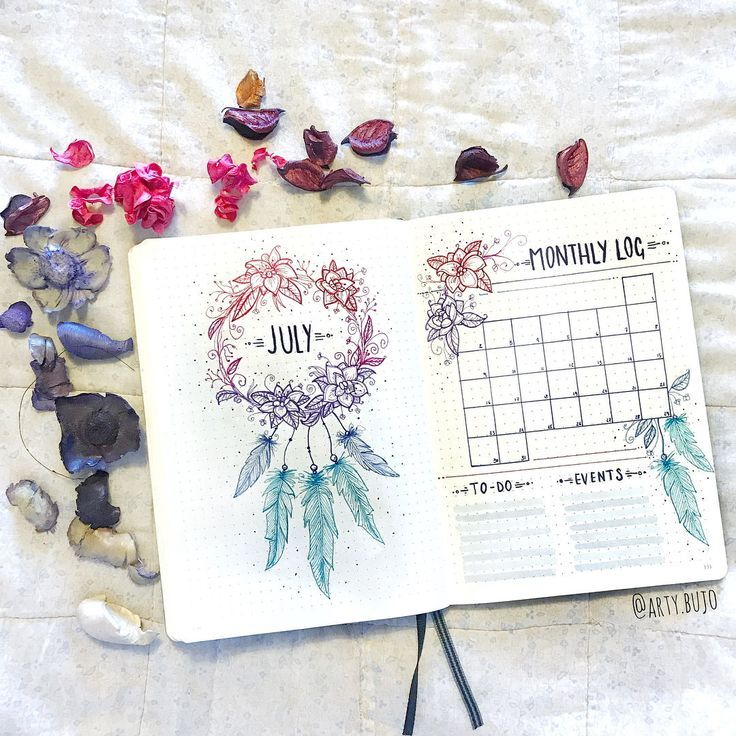 bullet journal bujo planner ideas for weekly spreads studygram study gram callig