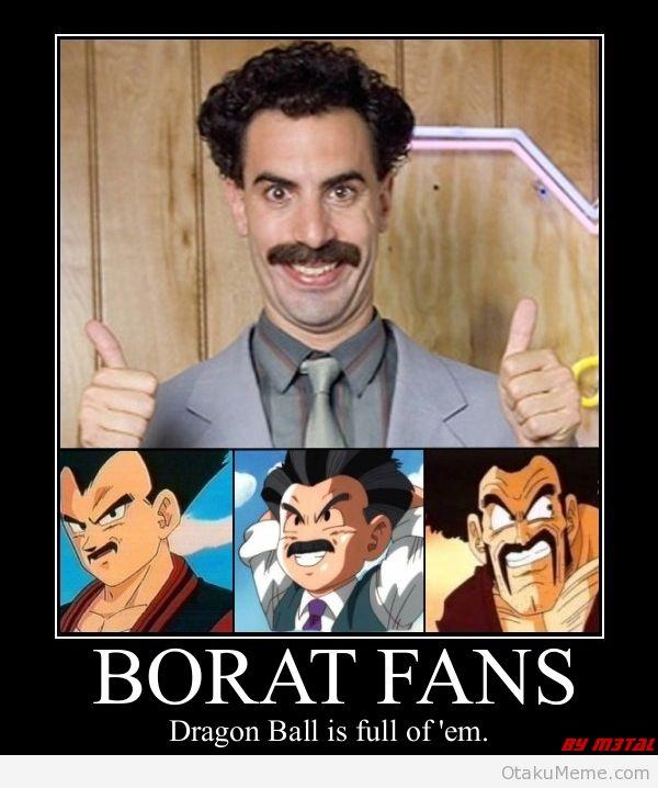 Otaku Meme » Anime and Cosplay Memes! » Borat's Unique They Said….