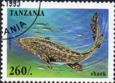 Tanzania 1995 Marine Life Scott 1409 Fine Used SG Not Listed Scott  1409