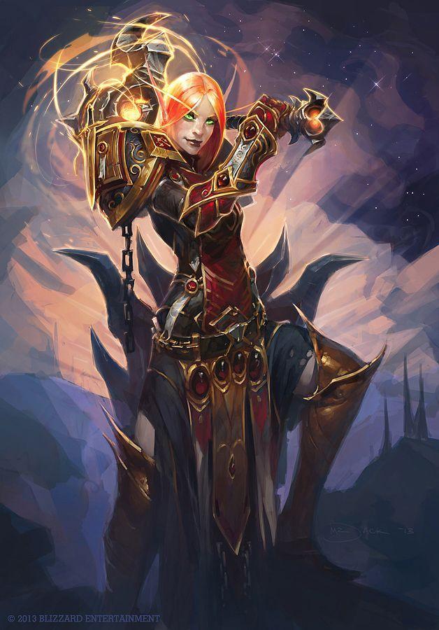 Alternate Lady Liadrin Art - General Discussion - Hearthstone General - HearthPwn Forums - HearthPwn