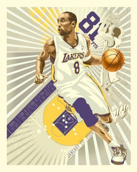 Kobe Bryant 81 Pt Game @ RAREINK