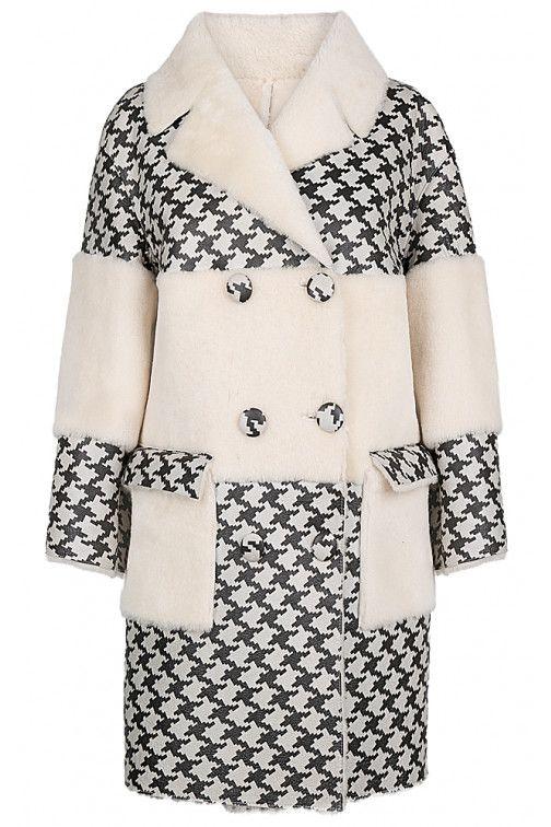 Пальто из овчины Virtuale Fur Collection Овчина