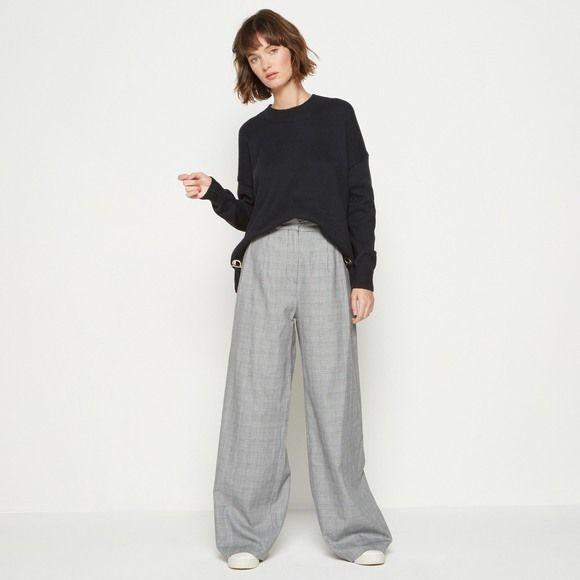 Monoprix - Pantalon large - MONOPRIX FEMME