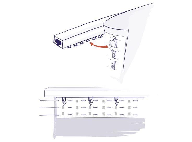 les 25 meilleures id es de la cat gorie rail rideau sur pinterest rail pour rideau rideaux de. Black Bedroom Furniture Sets. Home Design Ideas