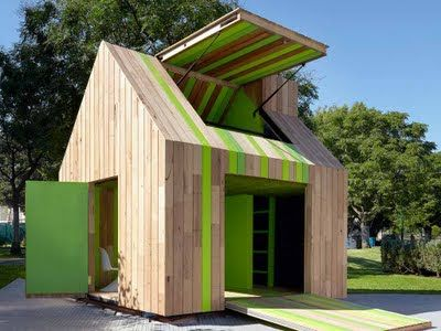 APlaceImagined: Modern Playhouses for Kids Under Cover