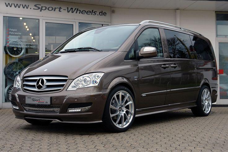 "Mercedes Vito - 20"" ABT DR Räder: ABT DR Custom Painted - Alufelgen VA 9.0 x 20"" mit 245/40/20 HA 9.0 x 20"" mit 245/40/20 Auspuff: Custom Edelstahlabgasanlage"