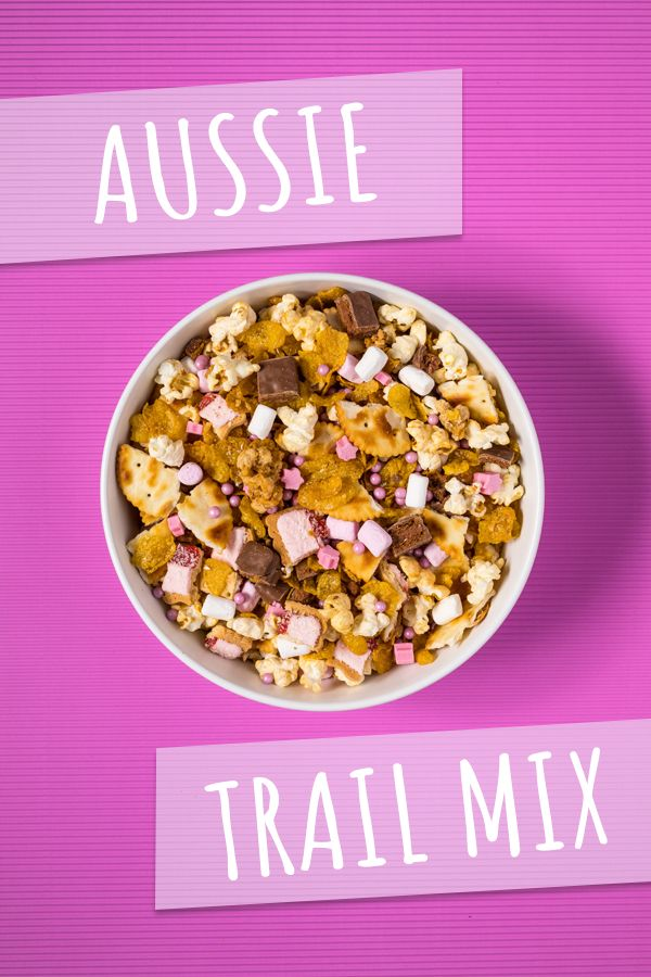 Aussie trail mix. Find the recipe at www.dollarsweets.com/recipes