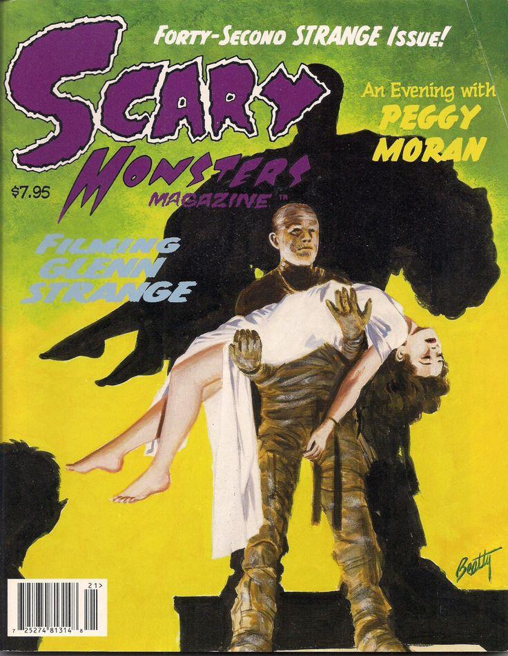 Scary Monsters Magazine #42 Glenn Strange Abbott & Costello Frankenstein Peggy Moran Mummy King Kong TV Horror Hosts Edgar Ulmer