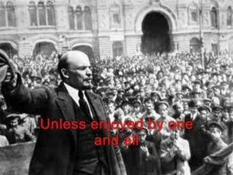 "▶ The Communist Internationale (Original, with English Lyrics) - YouTube Like the communist anthem ""Internationale,"" on which it is based, ""Beasts of England"" stirs the emotions of the animals and fires their revolutionary idealism."