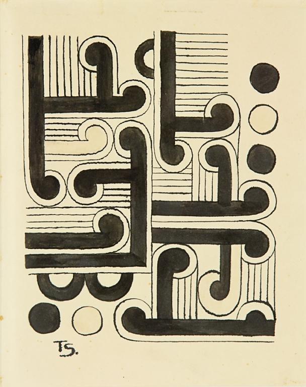 Koru Study // Theo Schoon