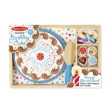 Melissa and Doug Birthday Party - Wooden Play Food (BNIB) - 10511