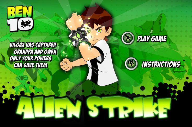 Juego de ben 10 done recorres por la ciudad adquiriendo las bolas verdes y matando a los enemigos, y trata de conseguir las imagenes de los alienijenas para poder combertirte