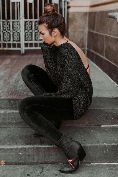Black Velvet Legging / Prism Boutique