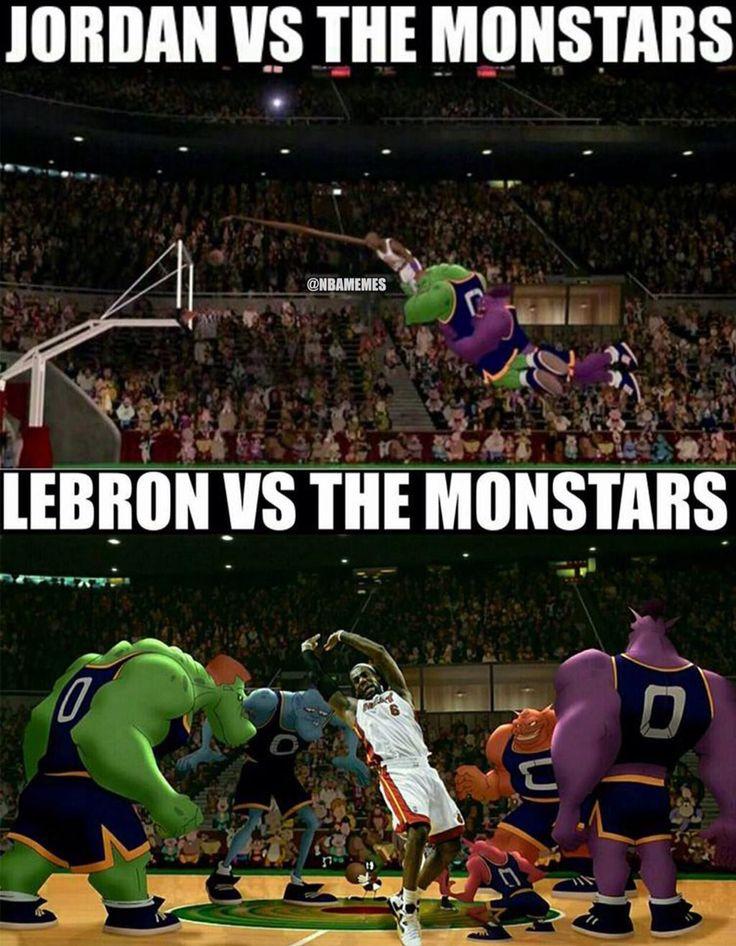 Michael, LeBron, and the Monstars