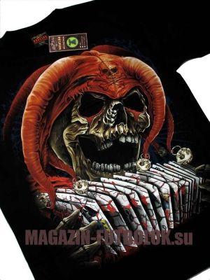 Любите азартные игры? Тогда эта футболка для Вас - 3D футболка Skull Jocker HD
