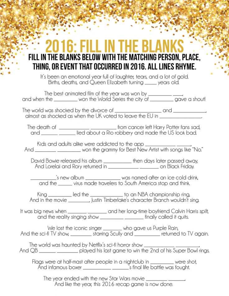 68 best New Year\'s Eve Party Ideas and Resolutions for the New Year ...