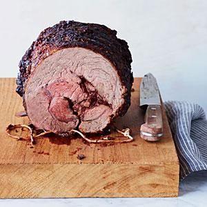 Beef Chuck Eye Roast with Paprika-Herb Rub | MyRecipes.com