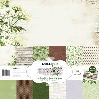 Botanica Paper Pack with Bonus Sticker Sheet