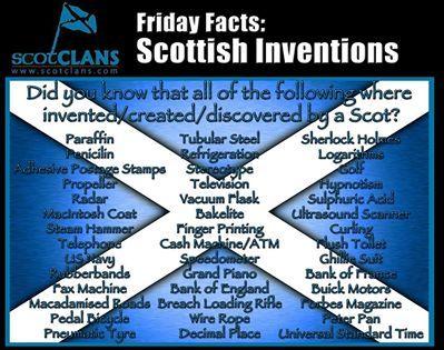 ♥ Scottish Inventions