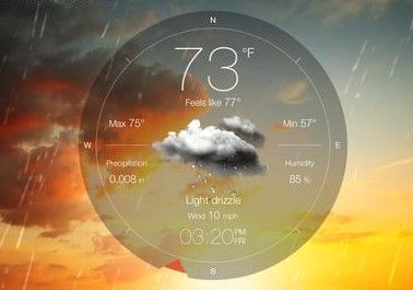 Top Weather Forecast Apps iPhone-iPad 2014