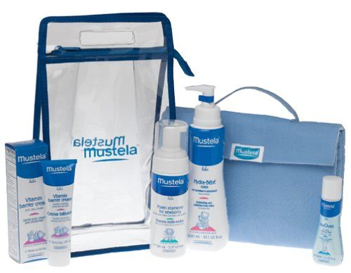 Mustela Newborn Gift Set - pamper the delicate skin of newborns, babies and children. And make sure payment time also goes smoothly, with the lowest price around - $33.95    #baby #newborn #kids #gifts #mustela