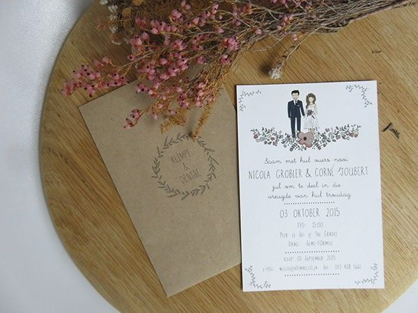 Illustrated Wedding Stationary
