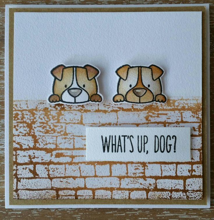 Charming Card Making Ideas Dogs Part - 8: MFT Lucky Dogs. Dog CardsBird ...