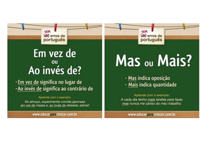 Sem erros de português