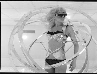 """Nuevas imágenes de las grabaciones del video clip """"Bad Romance"""" de Lady Gaga"""