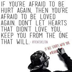 don't be afraid to fall in love again quote - Google Search