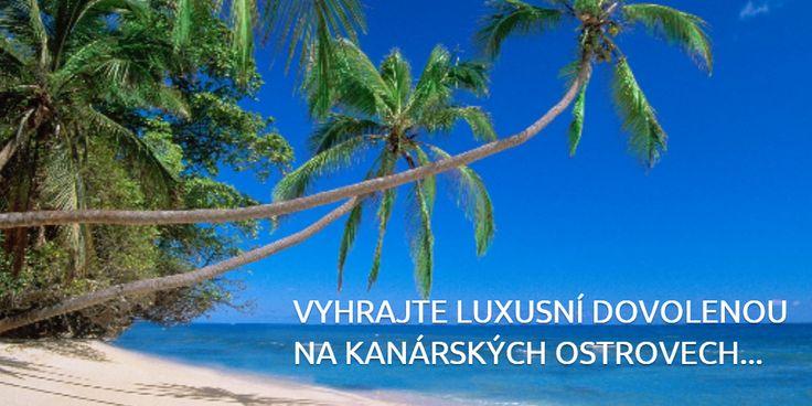 REGISTRACE DO SOUTĚŽE: http://www2.oh.cz/luxusni-dovolena-na-kanarech-pro-dva