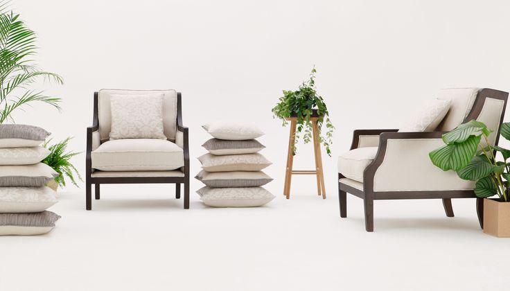 Colonial armchair