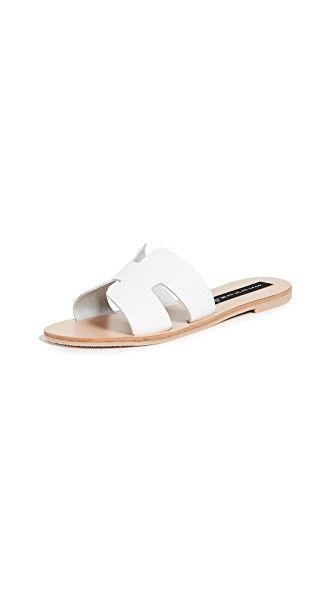 STEVEN GREECE SLIDES. #steven #shoes #