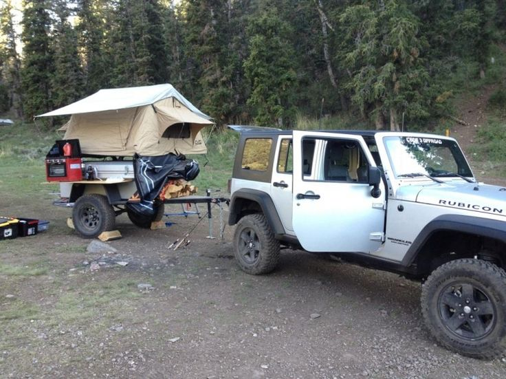 Off Road 4x4 Trailers | Cascadia Vehicle Roof Top Tents