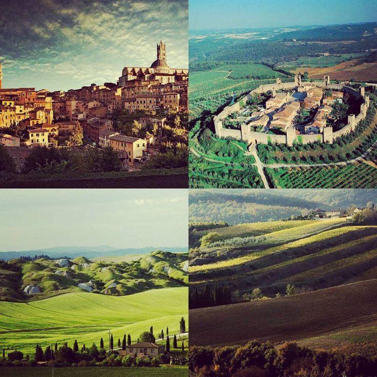 Toscana, Siena #motorcycle top destination