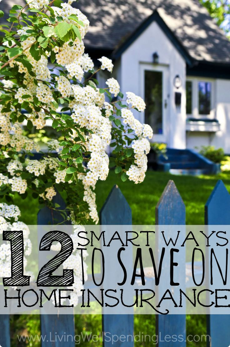 Few of us would ever consider not having insurance, but have you ever stopped to consider whether you might be paying too much to insure your home? Don't miss these 12 smart ways to save on homeowner's insurance--it is one post that could literally save you hundreds, or even thousands!