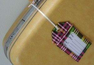 How to Make Luggage Tags Instant Download Sewing by StudioCherie