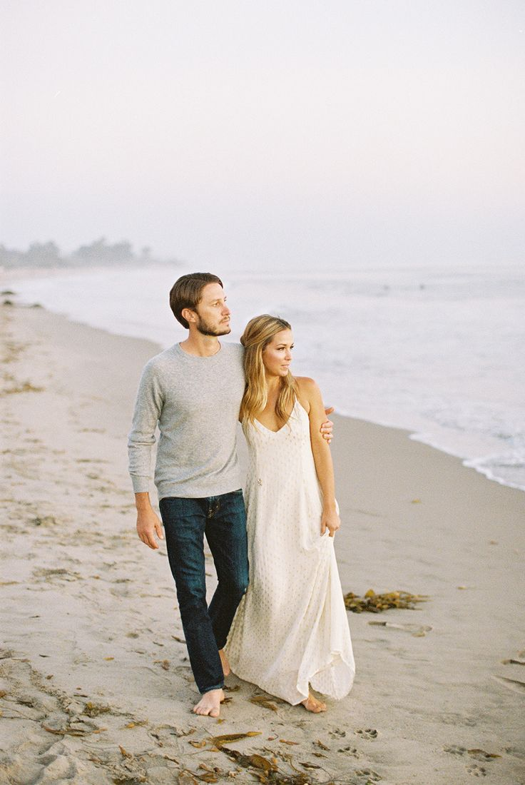 Photography: Lane Dittoe - lanedittoe.com  Read More: http://www.stylemepretty.com/california-weddings/2015/04/30/modern-santa-barbara-ranch-engagement-shoot/