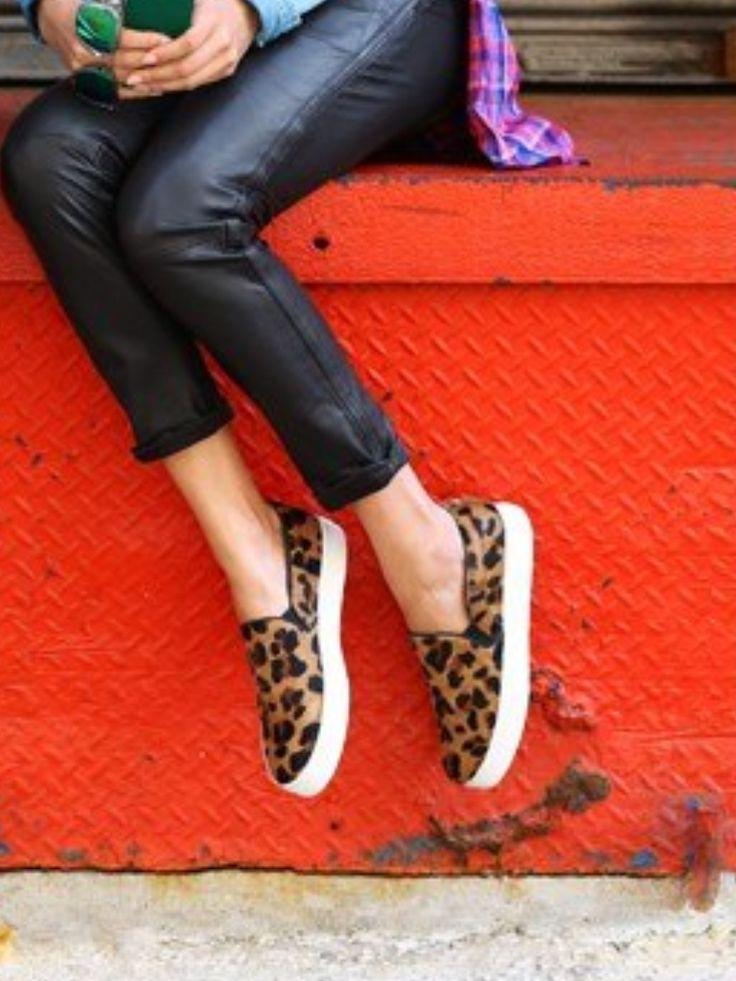 Schultz sporty slip-ons | affordable version of swoon worthy Celine.