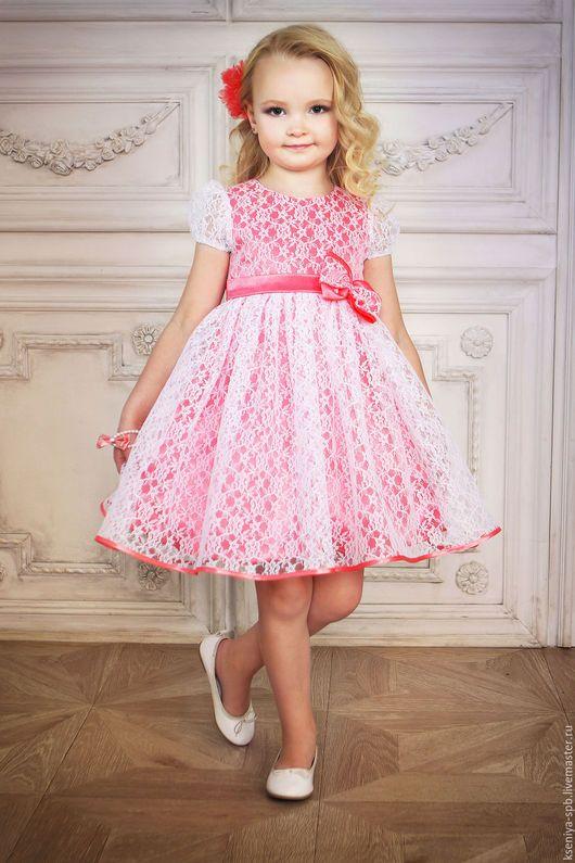 Одежда для девочек, ручной работы. Заказать Платье в французском стиле, для маленьких девочек (сирень 72). 'Рюши Ксюши' (Kseniya-spb). Ярмарка Мастеров.