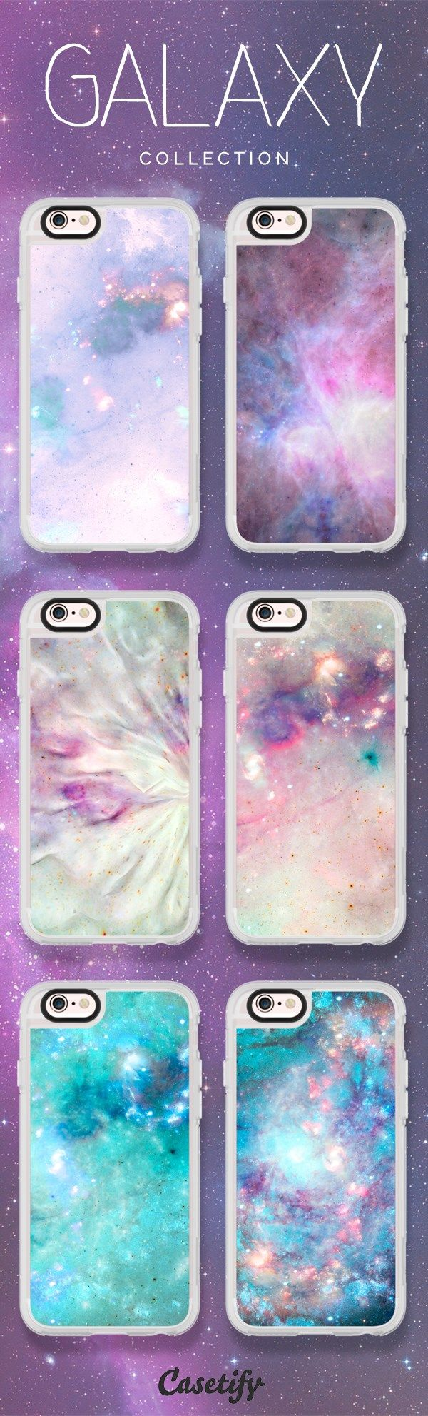 Take a look at these cases featuring galaxies designed by Barruf Art now! Explore it with the space illustrartion ! >>> www.casetify.com/...   Casetify