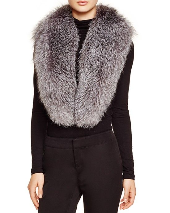 Surell Fox Fur Stole - Bloomingdale's Exclusive
