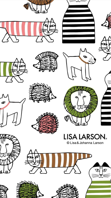 リサ・ラーソン[12] iPhone壁紙  ただひたすらiPhoneの壁紙が集まるサイト